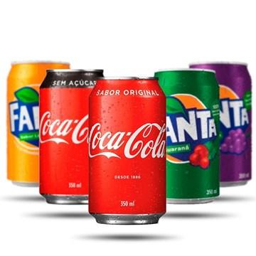 Imagem de Coca Zero Lata 350ml