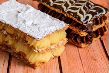 Imagem de Mil Folhas Chocolate (Un)