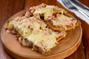 Imagem de Waffle Ham And Cheese.